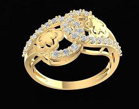 3D print model 1672 Diamond Ring