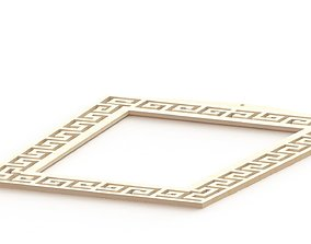 Mirror frame from 3D printing 3dprint