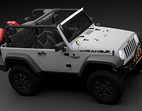Jeep Wrangler limited 3D model