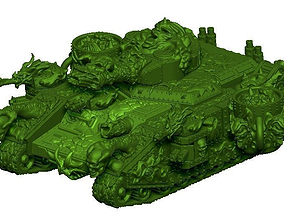 PlagueLord Tank Vessel of Pestilence 3D printable model