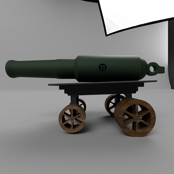 1st WW Cannon