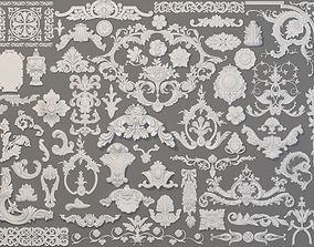 3D model Carved Elements Collection -5 - 58