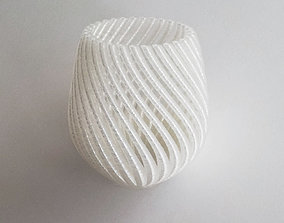 gift decorative 3D print model String Vase