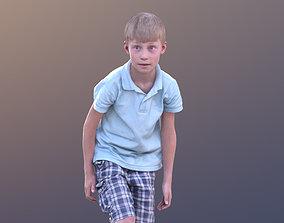 Leo 10190 - Footballer Child 3D asset