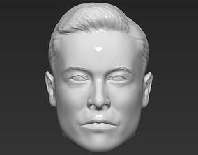 Elon Musk standard version only mesh 3D