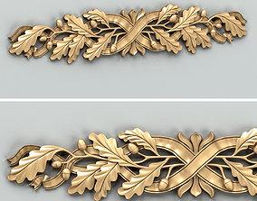 3D Carved decor horizontal 038