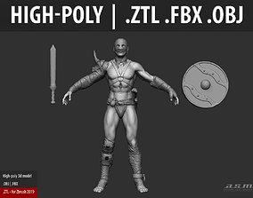 3D model Gladiator - High-poly