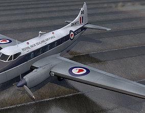 3D De Havilland DH-104 Dove