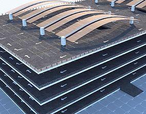 3D asset Multi -Storey Parking - Floor Parking