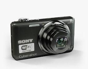 Sony DSC-WX80 Black 3D model