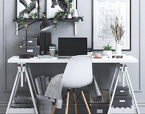Office workplace 18 3D model
