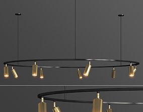 3D model Lino Round Spotlight Pendant Lampatron
