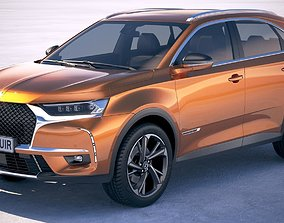 3D model DS 7 Crossback 2018