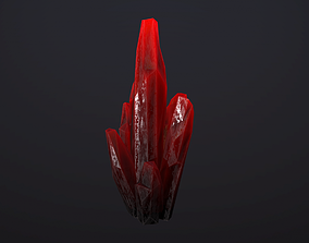 Crystals Pack 2 3D asset realtime