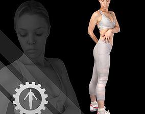 3D model Female Scan - Olga 92