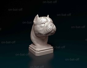 3D printable model American Bully bust