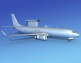 3D Boeing E-8 Posiedon EAWS RAN