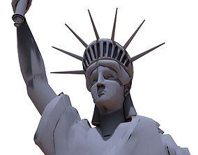 3D model statue of liberty