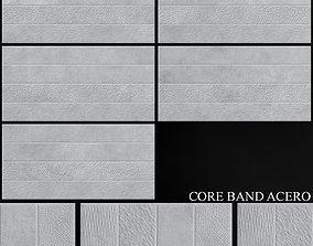 3D Keros Core Band Acero