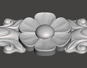 WoodCarving detail - 3d model for CNC - WCCFC0G