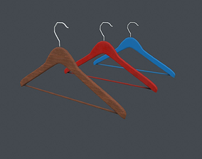 Clothes Hanger 3D model VR / AR ready