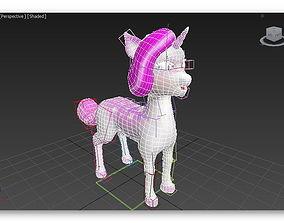 3D model Cartoon unicorn