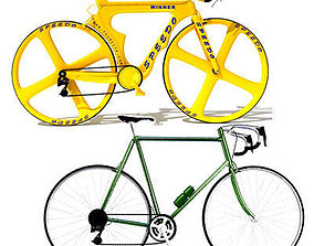 2 Bicycles Models high