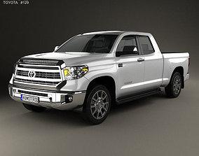3D model Toyota Tundra Double Cab 2013
