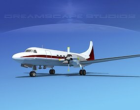 Convair CV-580 Corporate 6 3D