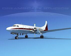 Convair CV-580 Corporate 6 3D