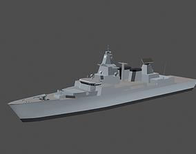 3D asset Battleship