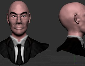 Charles Xavier Sculpt 3D model