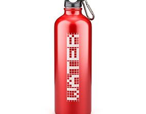 Metal Bottle Water 3D