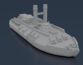 3D print model USS CAIRO 1861