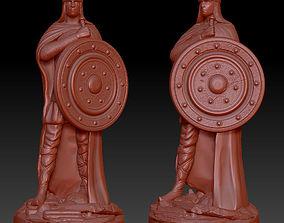 3D printable model Warrior figurine