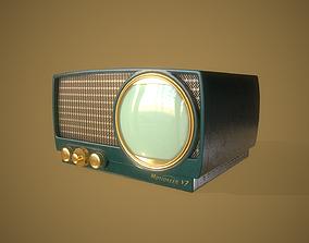 3D model Vintage TV Motioneer V7