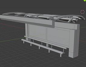 thai bustop 2019 3D printable model