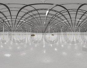 3D HDRI - Warehouse Interior 10