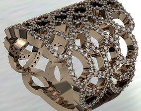 LACE RING 3D print model retro