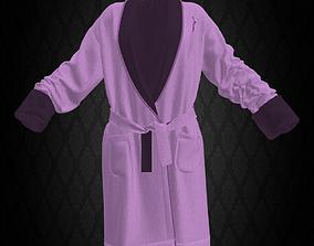 3D asset Victoria Secret Bathrobe Pink
