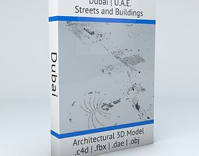 3D Dubai Streets and Buildings
