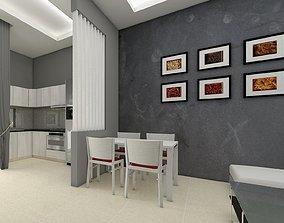 Link house 2 story 3D model