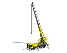 Parametric Mobile Crane - Revit Family building 3D