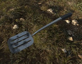 Spatula cooking 3D
