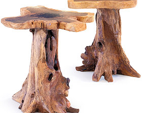 Side Table Tree Small 3D