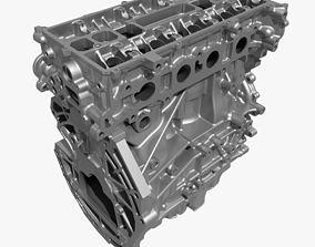 4 Cylinder Engine Block 02 3D model