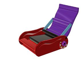 3D print model cone CIGARETTE ROLLING MACHINE