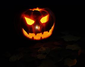 3D model Pumpkin and halloween stuf