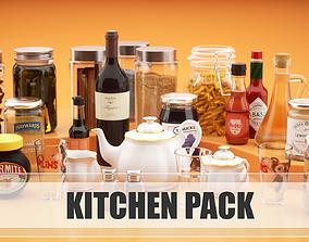 3D model Kitchen pack dish