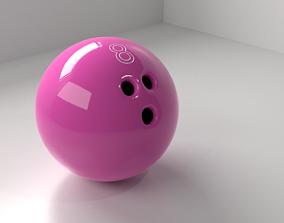 Bowling Ball 8 P 3D